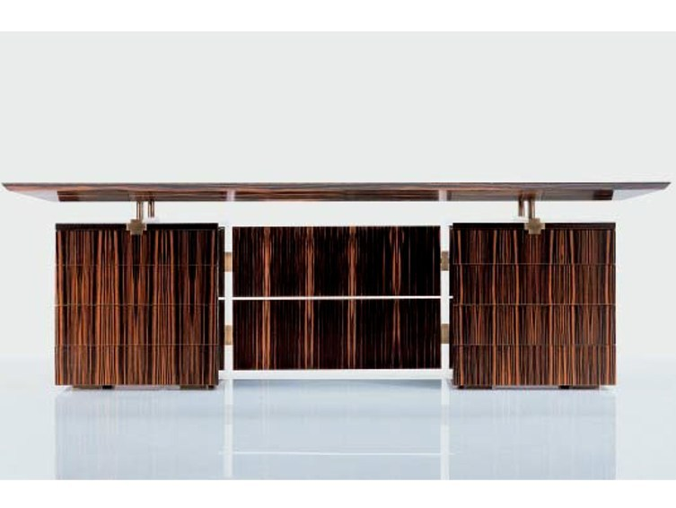 Wooden executive desk SC 3003/E | Executive desk - OAK Industria Arredamenti