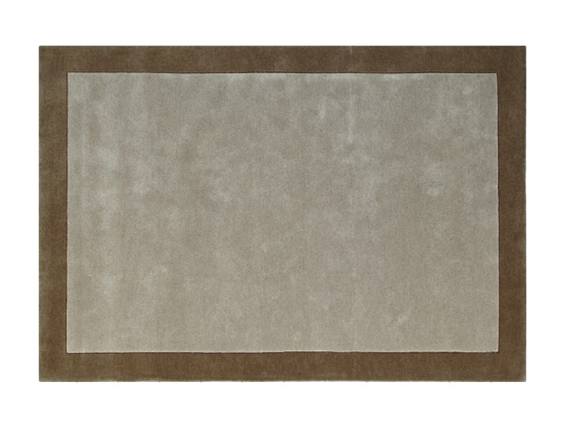 Rectangular wool rug BORDER - Toulemonde Bochart
