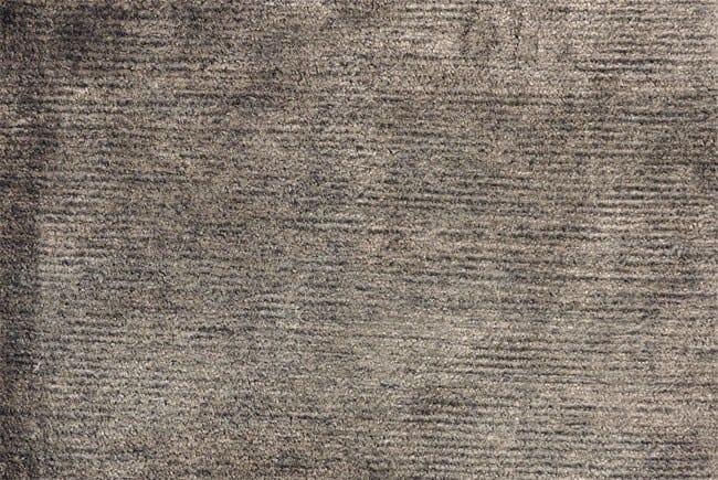 Solid-color bamboo fibre rug VELVET - Toulemonde Bochart