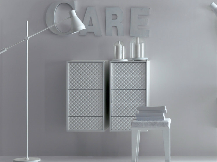 Suspended wooden wall cabinet COCO | Wall cabinet - FALPER