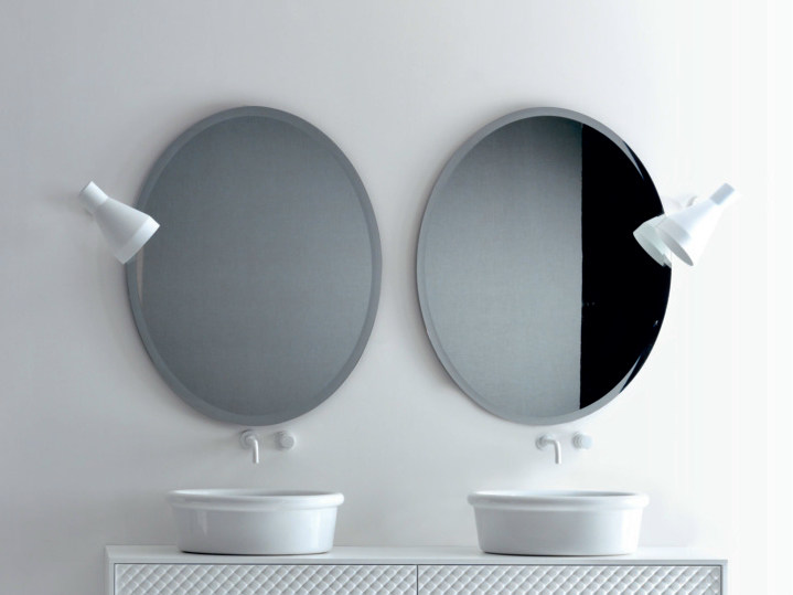 Oval bathroom mirror Oval mirror by FALPER