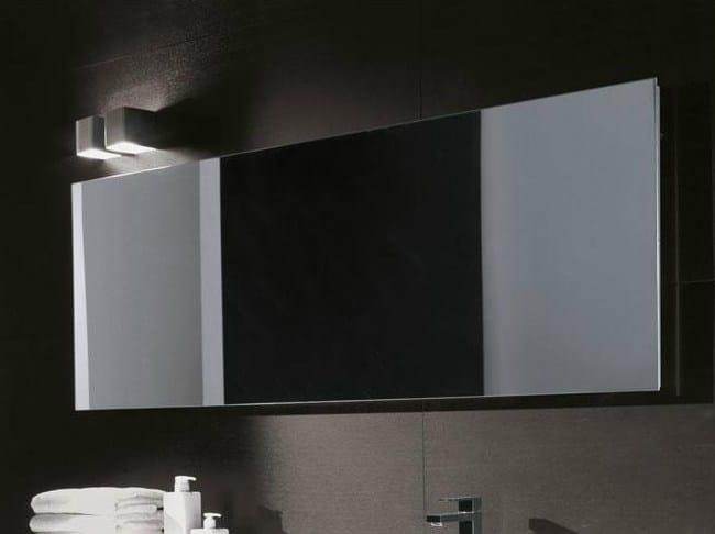 Specchio rettangolare by falper design falper design for Specchio bagno 3d