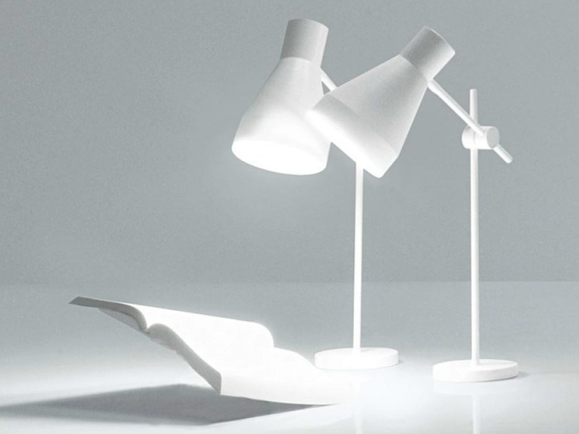 With swing arm table lamp SABRINA | Table lamp by FALPER