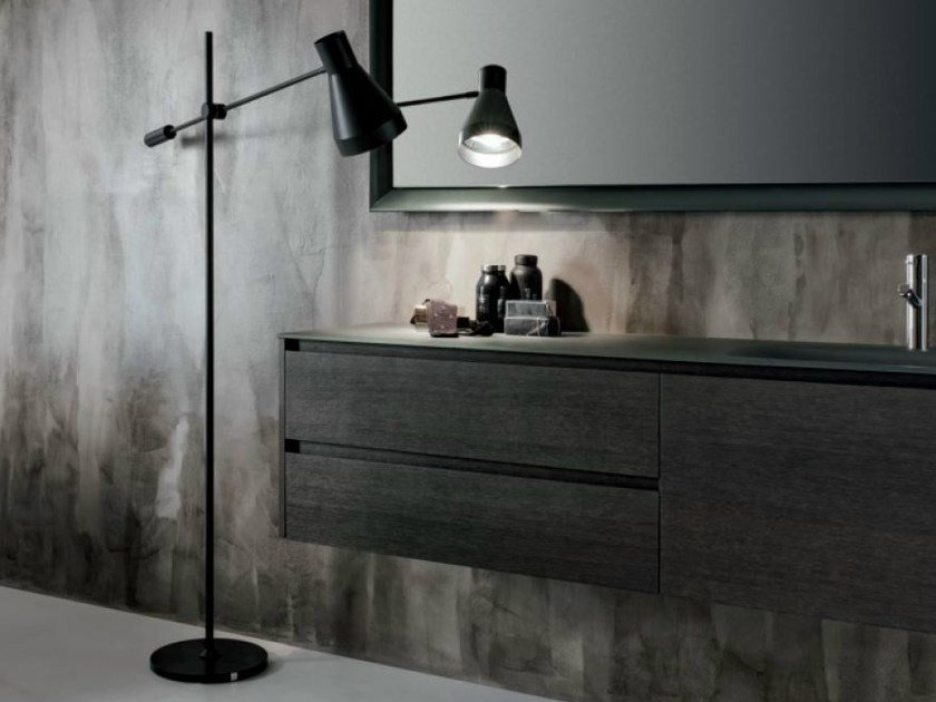 Adjustable floor lamp for bathroom SABRINA | Floor lamp - FALPER