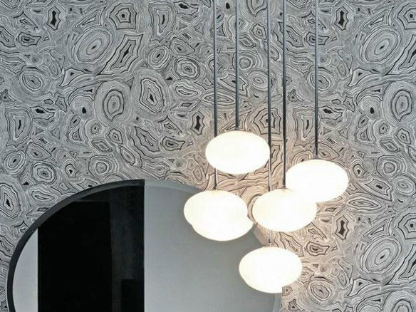Glass pendant lamp OVALE | Pendant lamp by FALPER