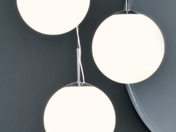 Glass pendant lamp ROUND - FALPER