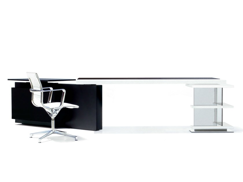 Executive desk with shelves MICHAEL - JOSE MARTINEZ MEDINA