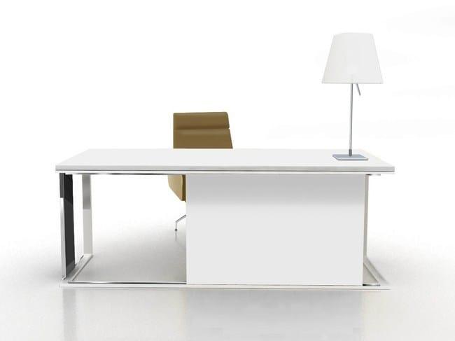 Lacquered workstation desk EL'S | Workstation desk by JOSE MARTINEZ MEDINA