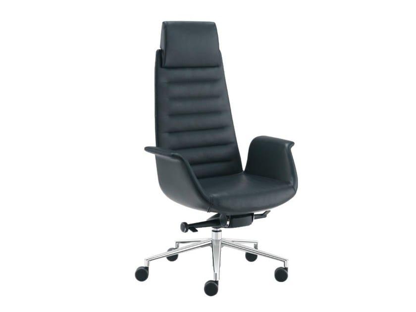 Executive chair with headrest MODÀ | Executive chair - Sesta