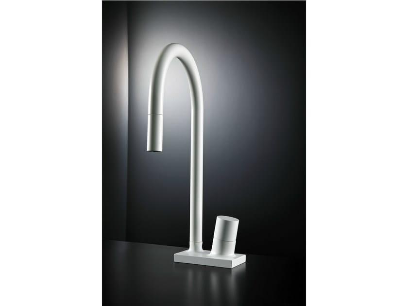 Contemporary style kitchen mixer tap FLUID | Kitchen mixer tap - FIMA Carlo Frattini