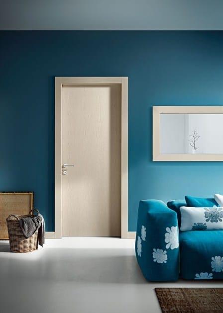 Model 114 - Brushed White Oak / Pivato Large Mirror - Brushed White Oak