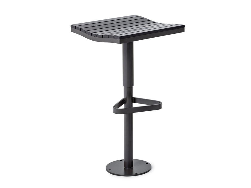 High stool with footrest PARCO | High stool - Nola Industrier