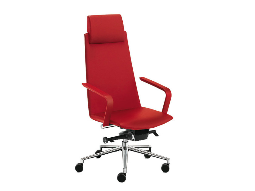 Executive chair with headrest MODE PLAIN | Executive chair - Sesta