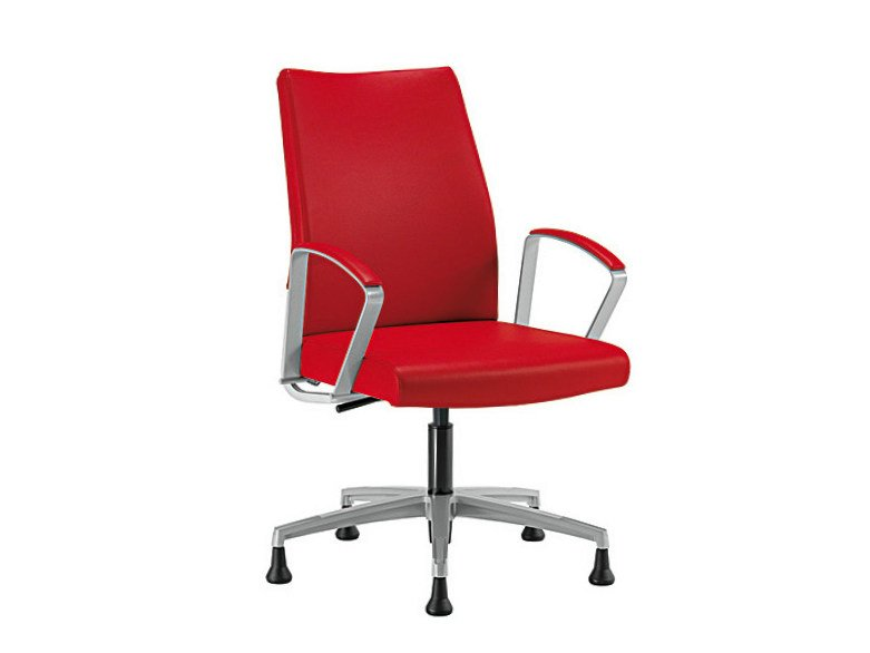 Swivel chair with 5-spoke base WIN-I | Swivel chair by Sesta