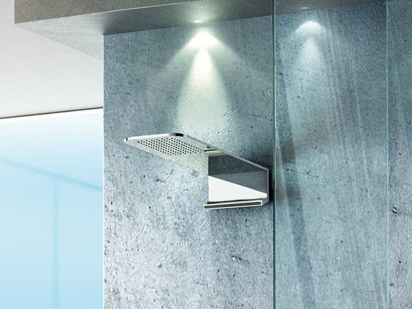 Steel overhead shower NEXT | Overhead shower by FIMA Carlo Frattini
