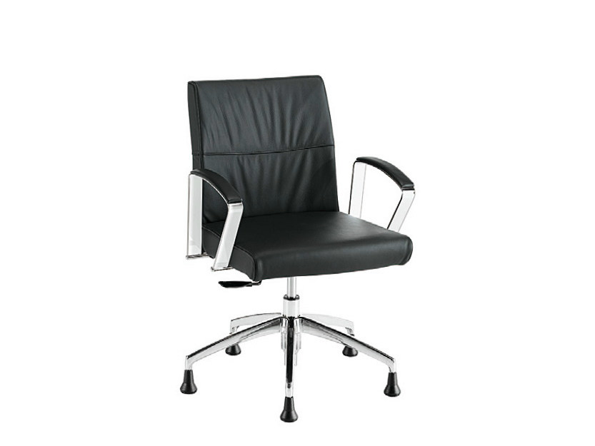 Swivel chair with 5-spoke base ADA LX PLUS | Swivel chair by Sesta