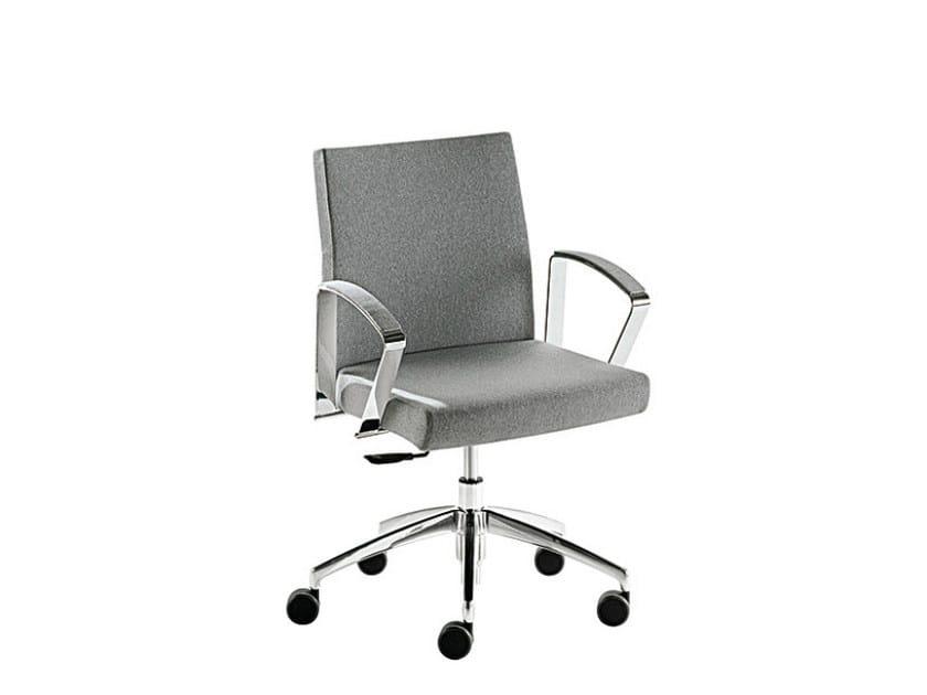 Swivel chair with 5-spoke base ADA LX | Swivel chair - Sesta