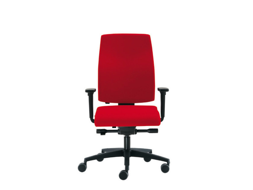 Task chair with 5-Spoke base SAX 8 | Task chair by Sesta