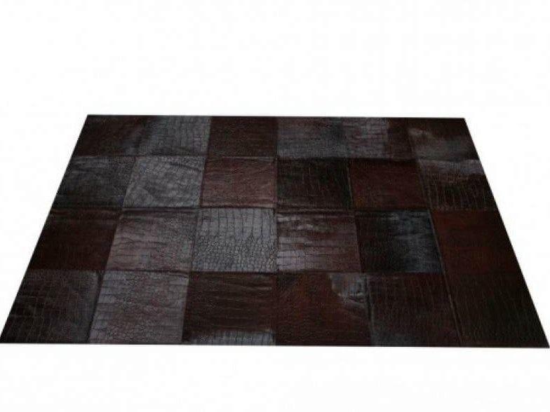Embossed Cowhide carpets by EBRU