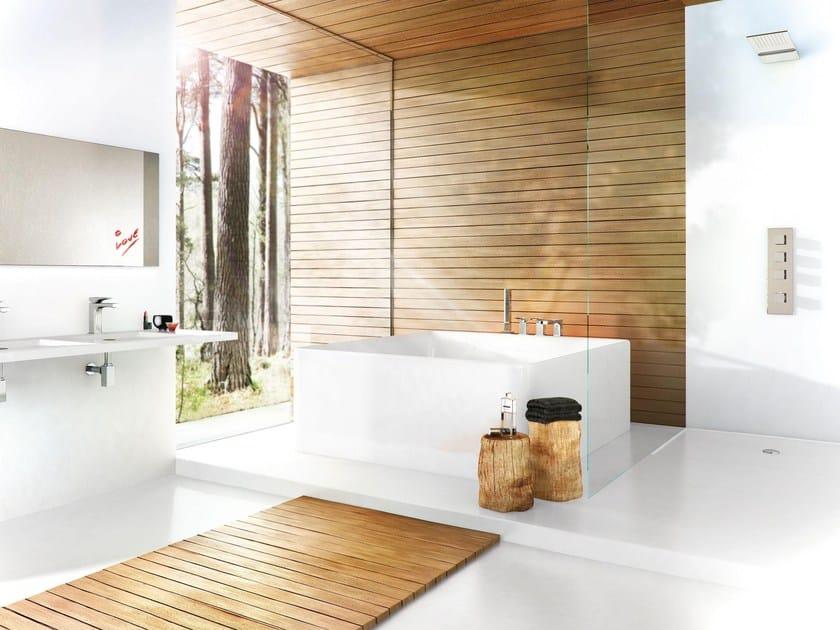 Miscelatore termostatico per doccia a 3 fori zeta miscelatore termostatico per doccia fima - Bagno termostatico ...