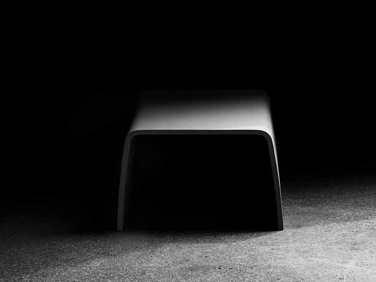 GRC coffee table TABLOO - concrete urban design