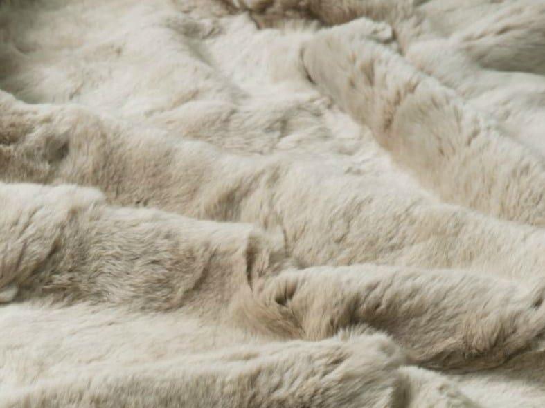 Rex fur rug / lap robe REX CARPETS AND PLAIDS - EBRU