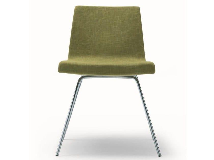 Upholstered fabric chair HELLA - MisuraEmme