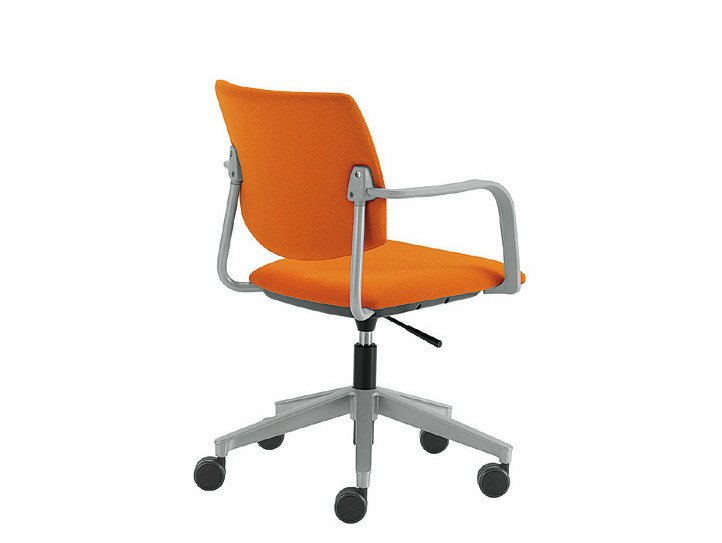 Swivel chair with 5-spoke base Q-44 | Swivel chair - Sesta