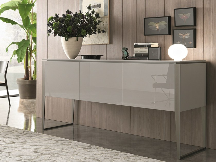 Lacquered sideboard with doors NIBBIO | Sideboard - MisuraEmme