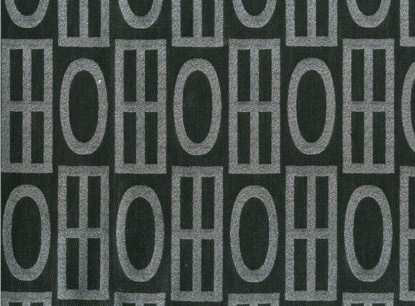 Cotton fabric with graphic pattern ZOROASTRO - KOHRO