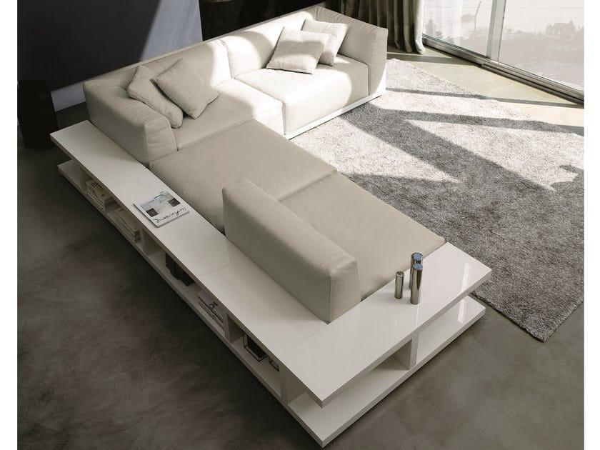 Divano angolare componibile in pelle sitin divano - Divano componibile angolare ...