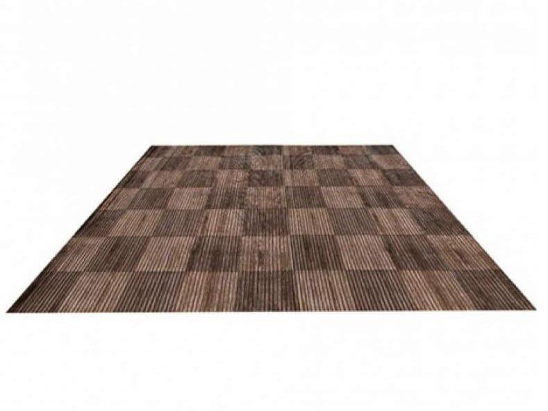 Handmade rug with geometric shapes ELEGANCE PACIFIC SQUARE   Handmade rug - EBRU
