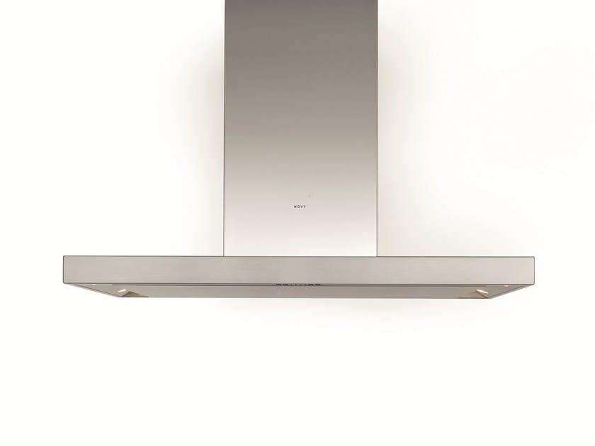 Island hood with integrated lighting 7650 FLAT'LINE - NOVY