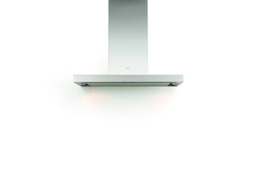 Wall-mounted cooker hood with integrated lighting 7600 FLAT'LINE - NOVY