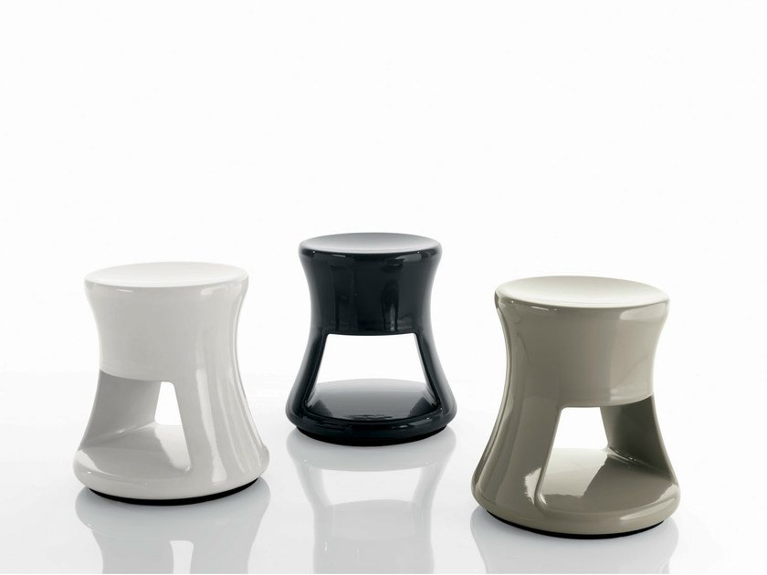 ABS coffee table / bedside table EBO by Bontempi Casa