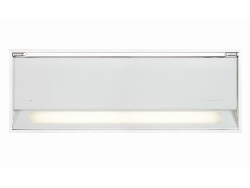 Built-in cooker hood with integrated lighting 686 FUSION - NOVY