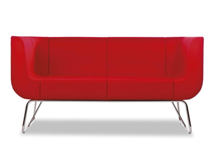 2 seater wool sofa EOS   2 seater sofa - True Design