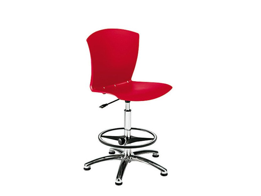 Counter stool with footrest CARINA | Counter stool - Sesta
