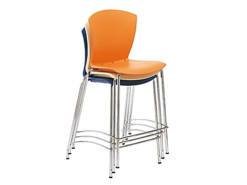 Stackable counter stool CARINA | Counter stool - Sesta