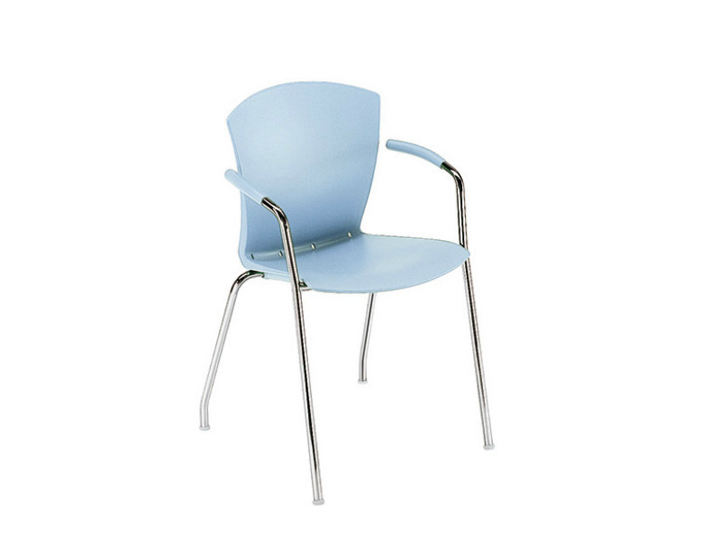 Reception chair with armrests CARINA | Chair with armrests - Sesta