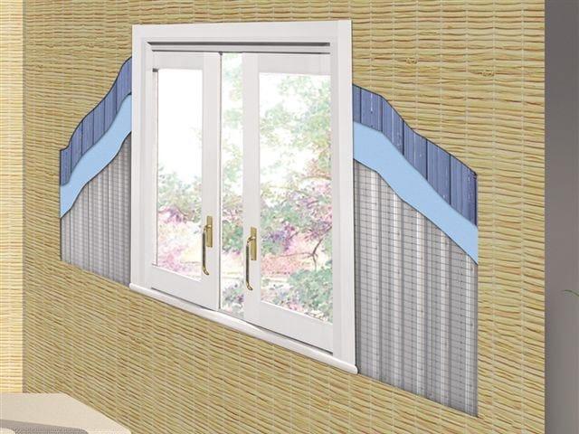 Controtelaio in alluminio per finestre alzanti scorrevoli - Finestre a scrigno ...