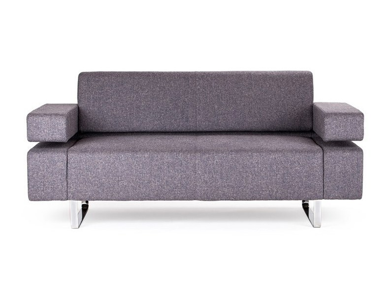 2 seater fabric sofa POSEIDONE MINI | 2 seater sofa by True Design