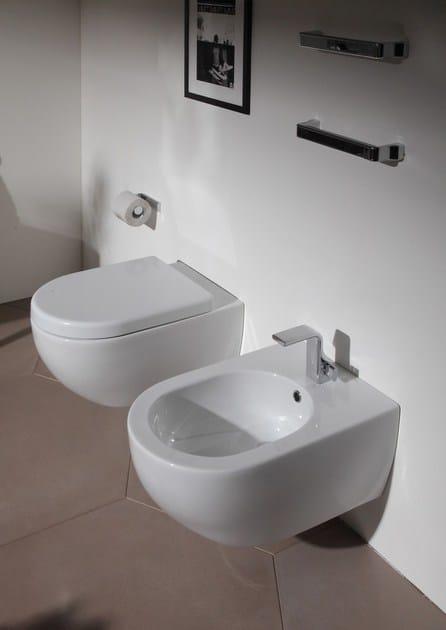 Bidet sospeso in ceramica app bidet sospeso ceramica flaminia - Flaminia sanitari bagno ...