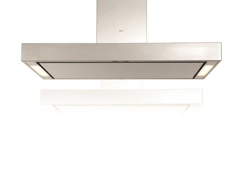 Island hood with integrated lighting 7251 PRO'LINE - NOVY