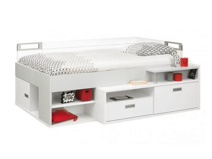 Wooden storage bed DIMIX | Bed - GAUTIER FRANCE