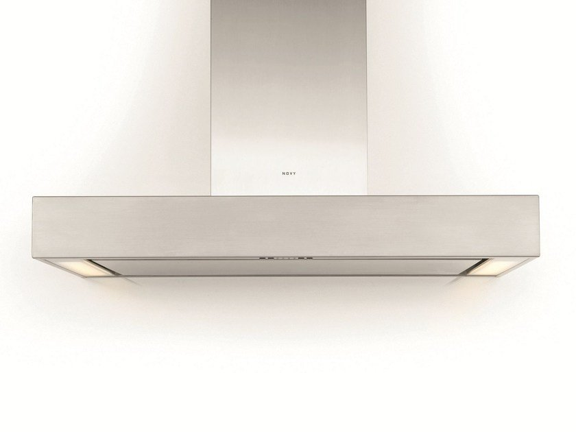 Wall-mounted cooker hood with integrated lighting 7211 PRO'LINE - NOVY