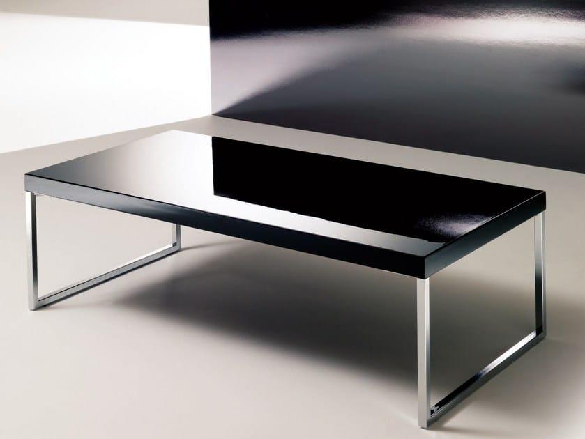 Tavolino basso da salotto PLAZA | Tavolino laccato - Bontempi