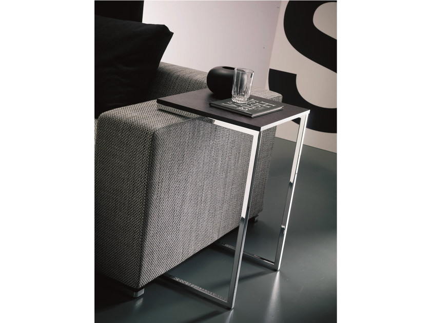 Lacquered side table TOWER - Bontempi Casa