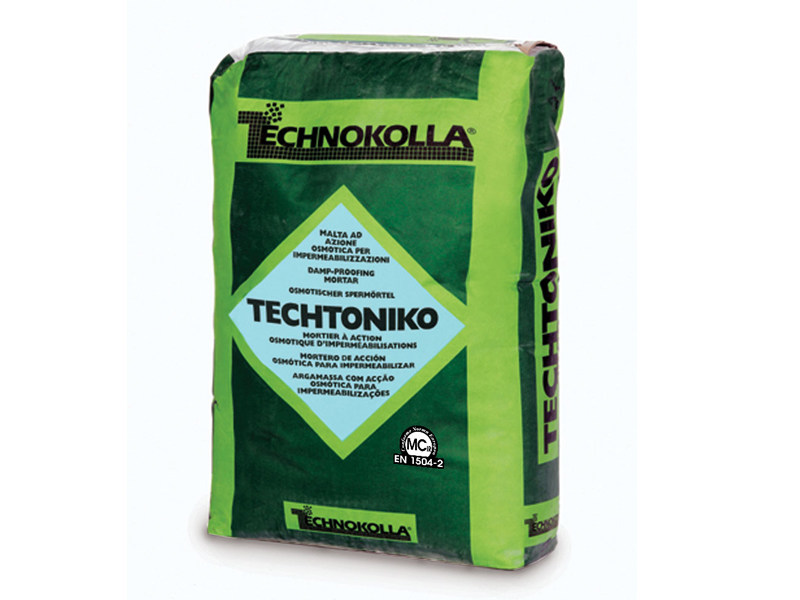 Dehumidifying plaster TECHTONIKO - TECHNOKOLLA - Sika