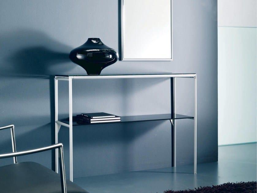 Rectangular crystal console table DIAGONAL | Crystal console table - Bontempi Casa